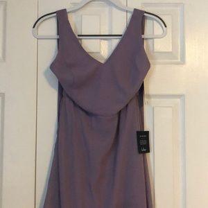 Lulus Dusty Lilac Dress
